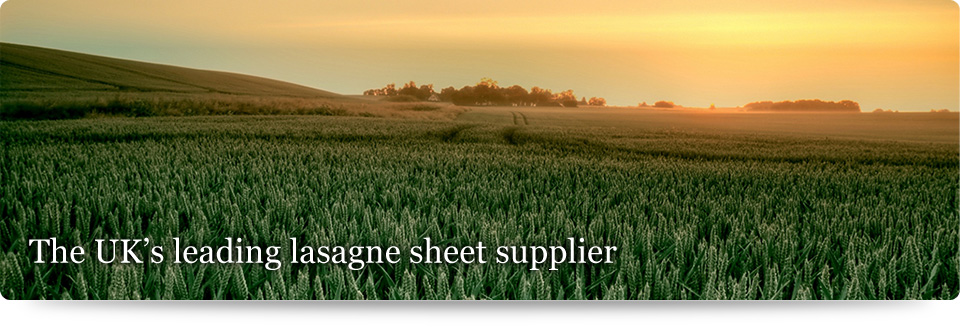 The UK's leading lasagne sheet supplier